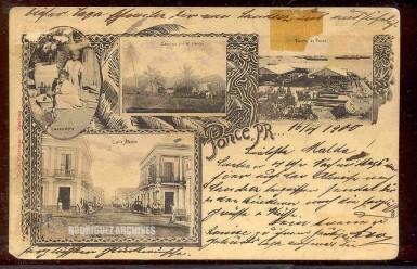 postcard circa 1900 ponce