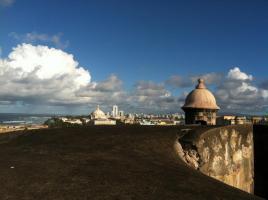 el morro and cityscape